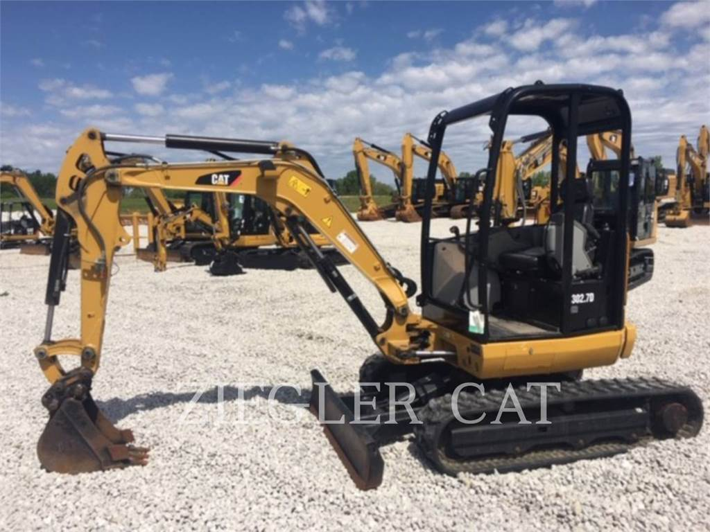 Caterpillar 302.7DCRH2, Crawler Excavators, Construction