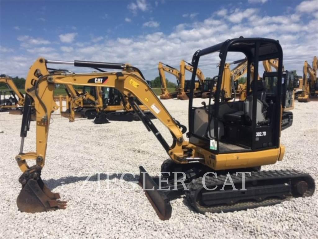 Caterpillar 302.7DCRH2, Pelle sur chenilles, Équipement De Construction