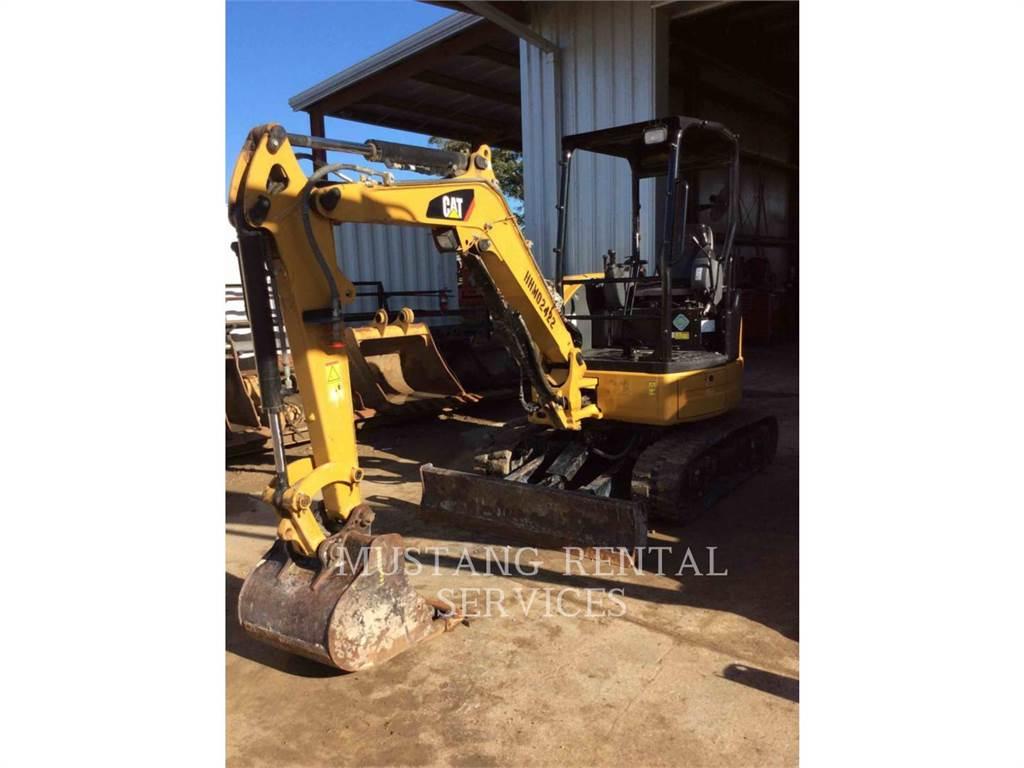 Caterpillar 303, Escavadoras de rastos, Equipamentos Construção