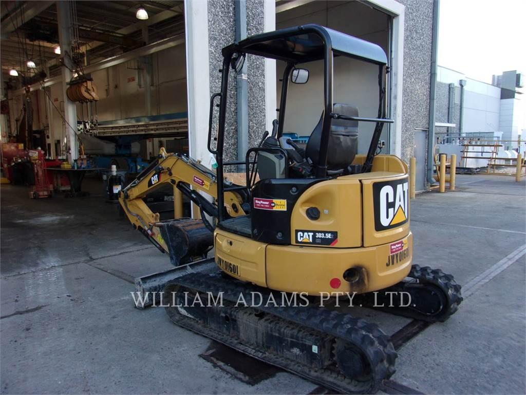 Caterpillar 303.5, Crawler Excavators, Construction