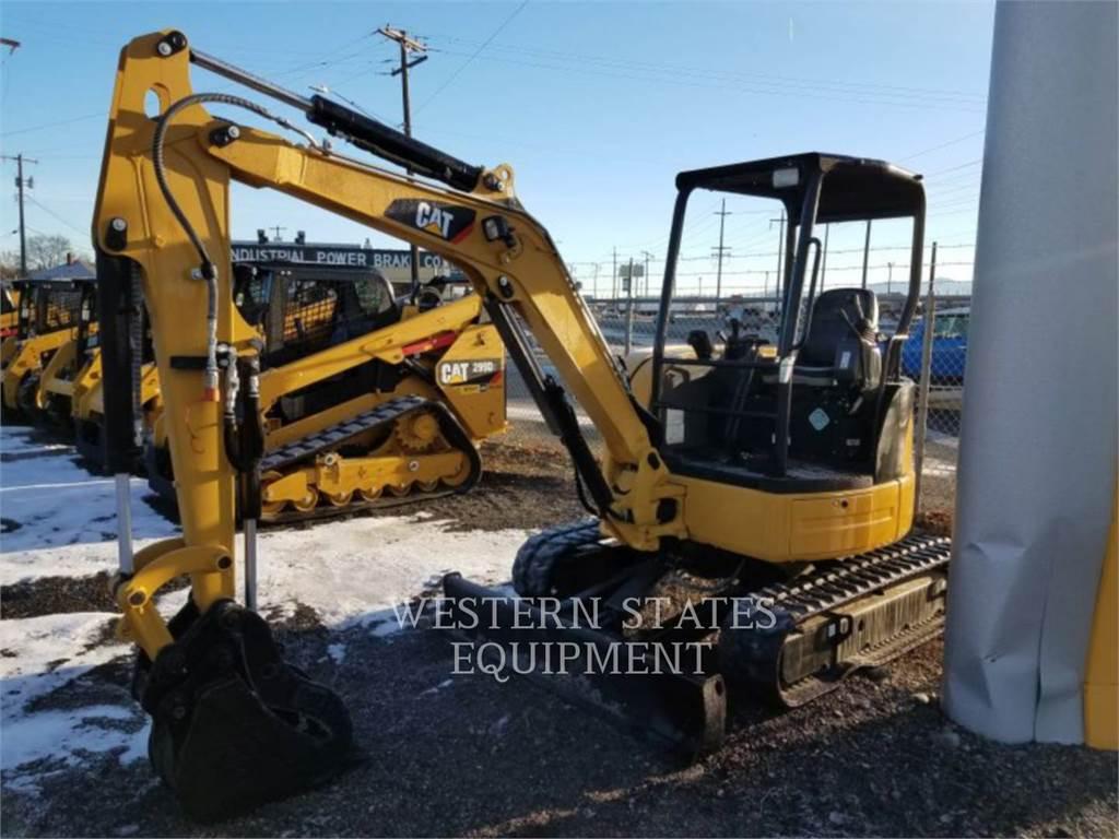 Caterpillar 303.5 E CR, Escavatori cingolati, Attrezzature Da Costruzione