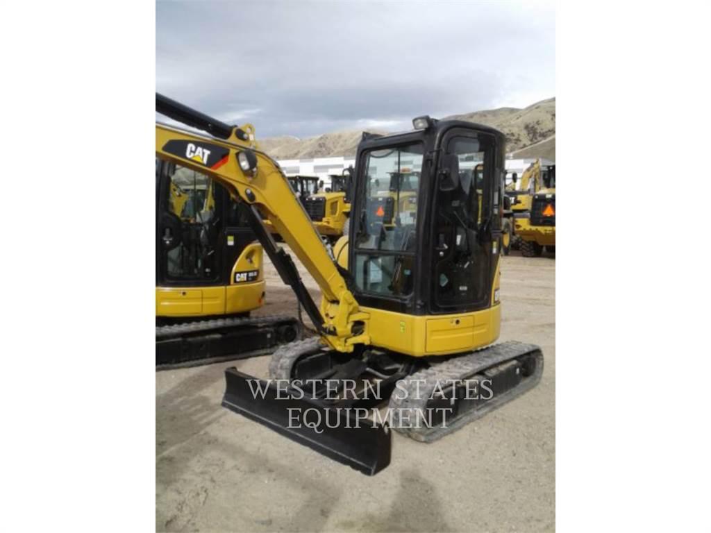 Caterpillar 303.5 E CR, Crawler Excavators, Construction
