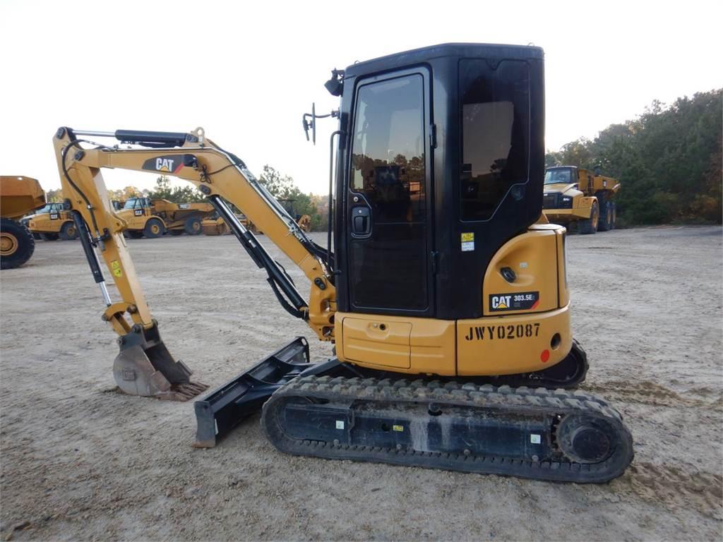 Caterpillar 303.5 E2 CR, Pelle sur chenilles, Équipement De Construction