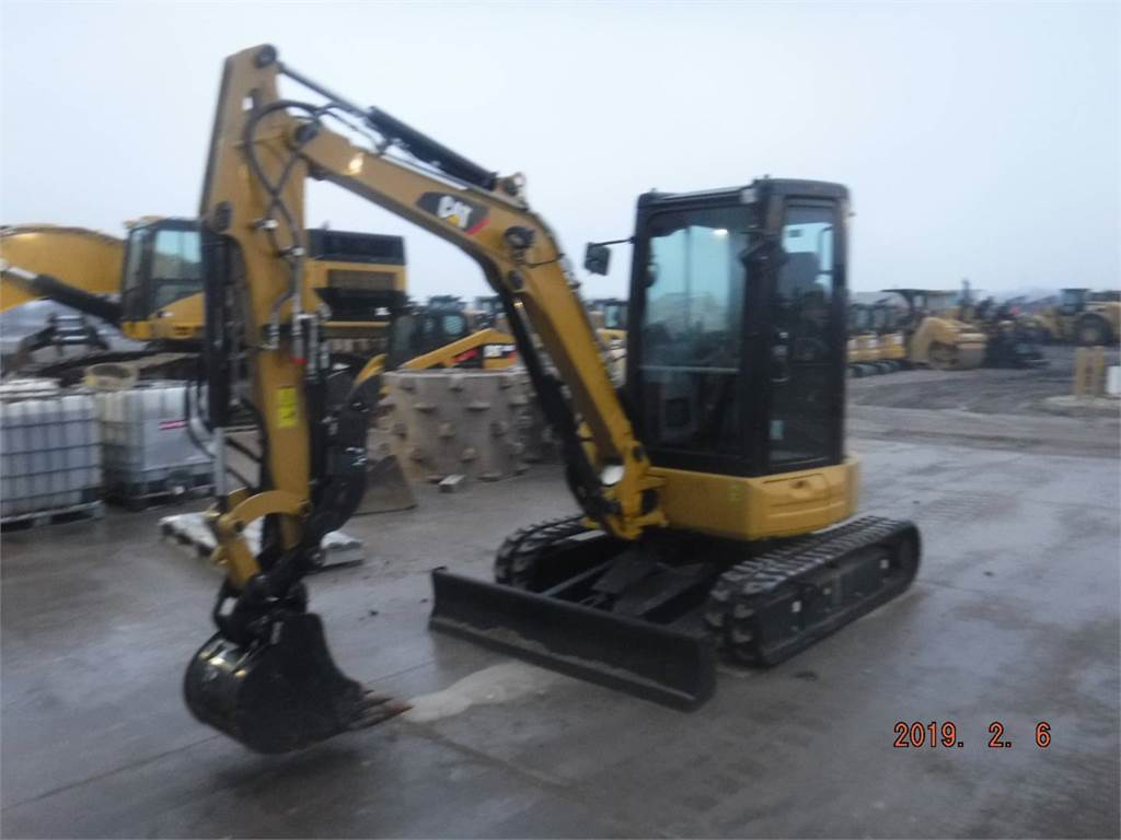 Caterpillar 303.5 E2 CR, Crawler Excavators, Construction