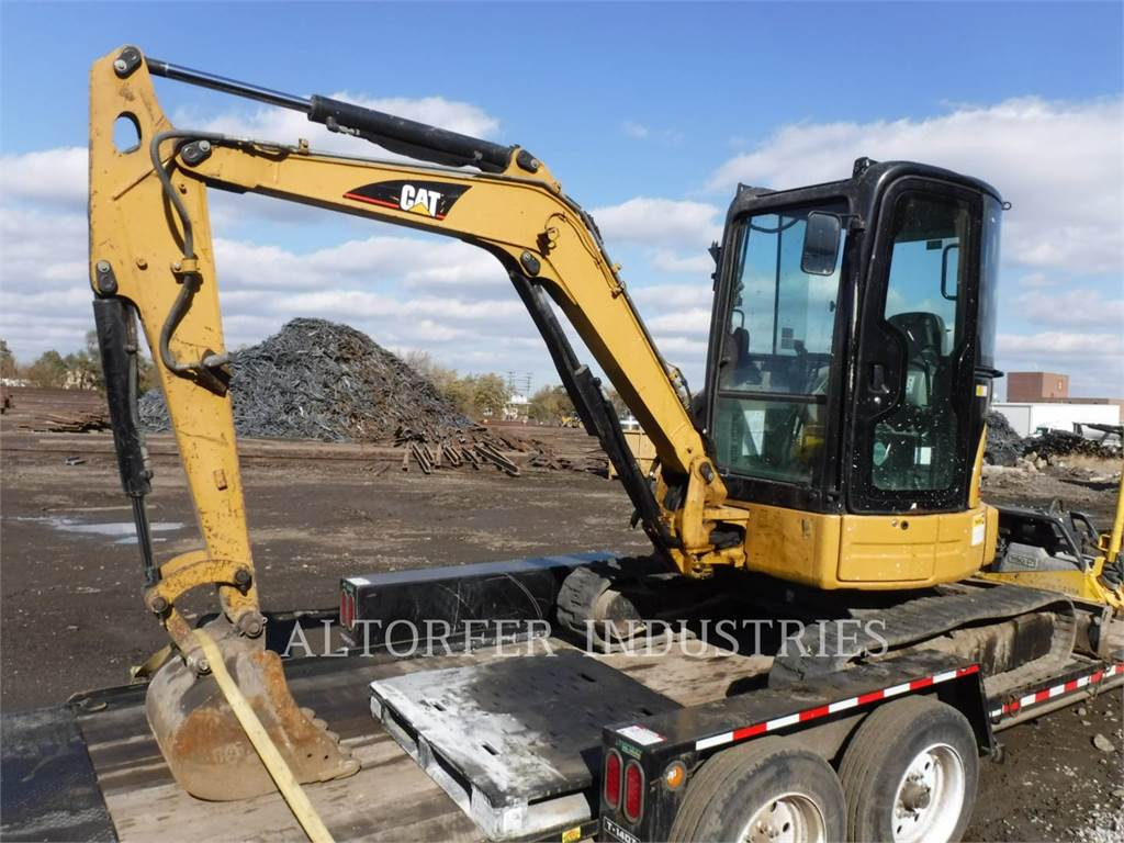 Caterpillar 303.5C CR3, Crawler Excavators, Construction