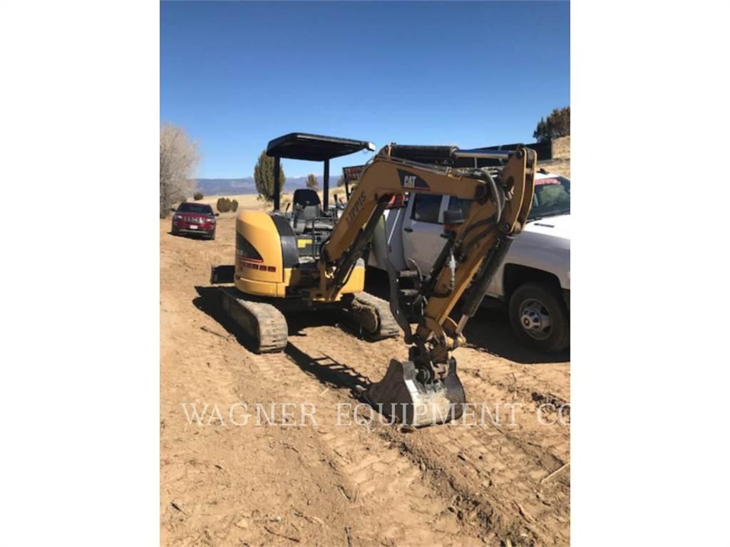 Caterpillar 303.5CCR, Pelle sur chenilles, Équipement De Construction