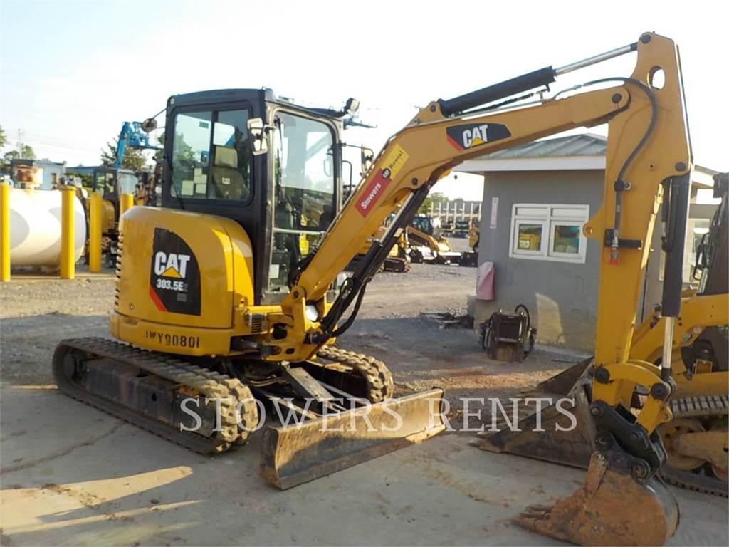 Caterpillar 303.5E CAB, Raupenbagger, Bau-Und Bergbauausrüstung