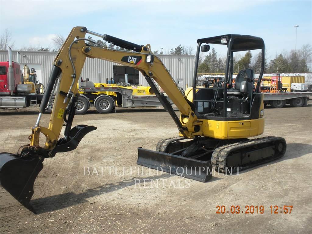 Caterpillar 303.5E CR, Crawler Excavators, Construction