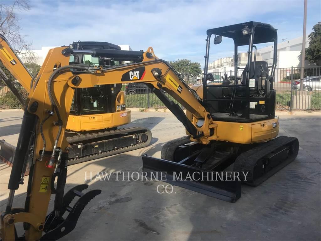 Caterpillar 303.5E2, Pelle sur chenilles, Équipement De Construction
