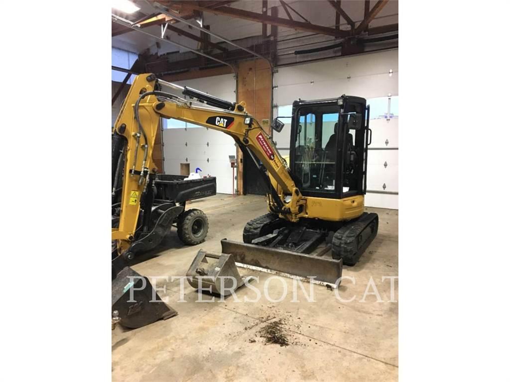 Caterpillar 303.5E2, Excavadoras de cadenas, Construcción