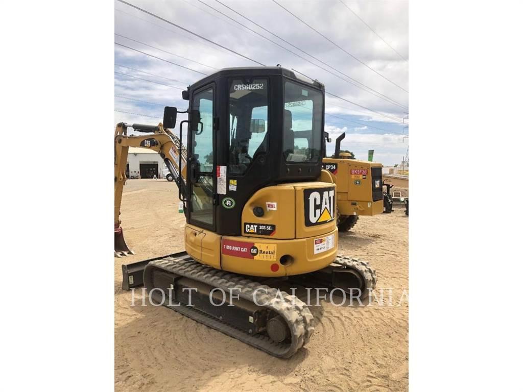 Caterpillar 303.5E2, Crawler Excavators, Construction