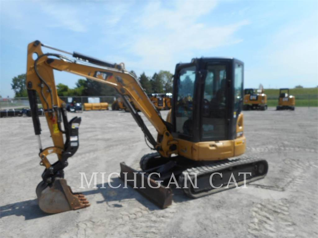 Caterpillar 303.5E2 ATQ+, Crawler Excavators, Construction