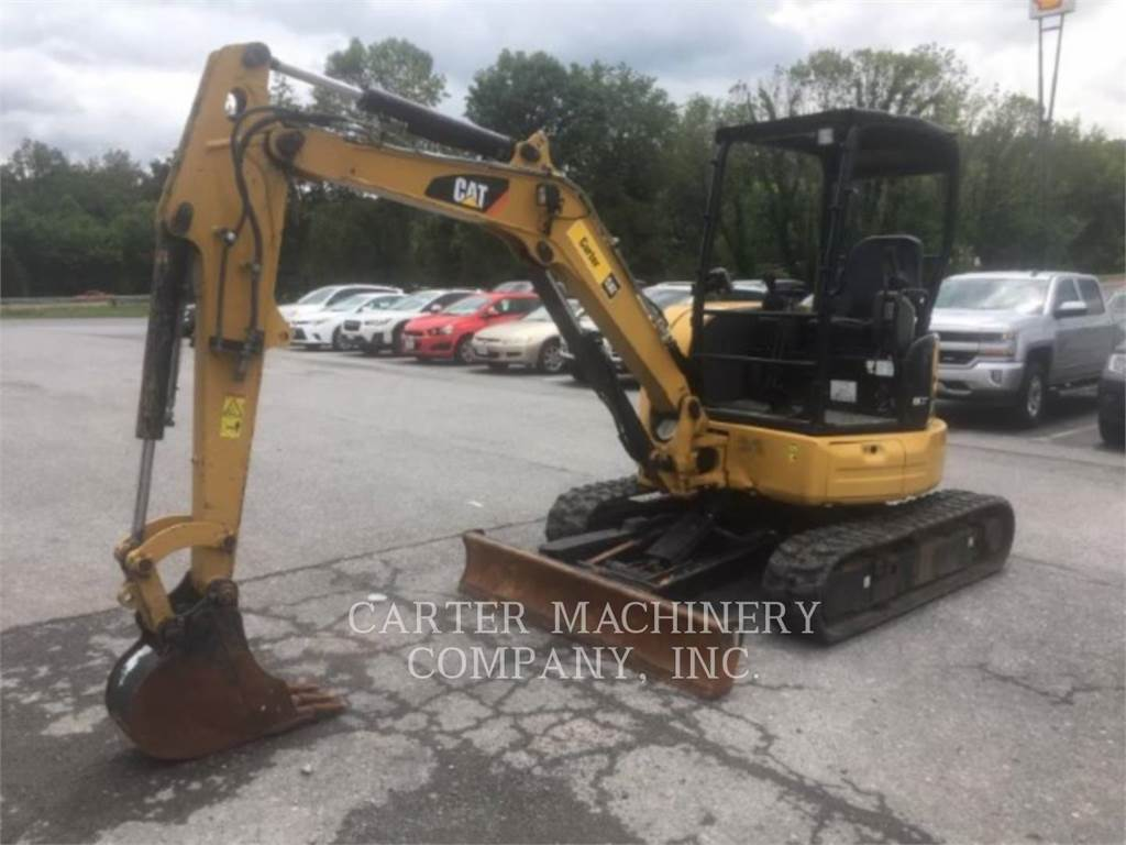 Caterpillar 303.5E2 BL, Crawler Excavators, Construction