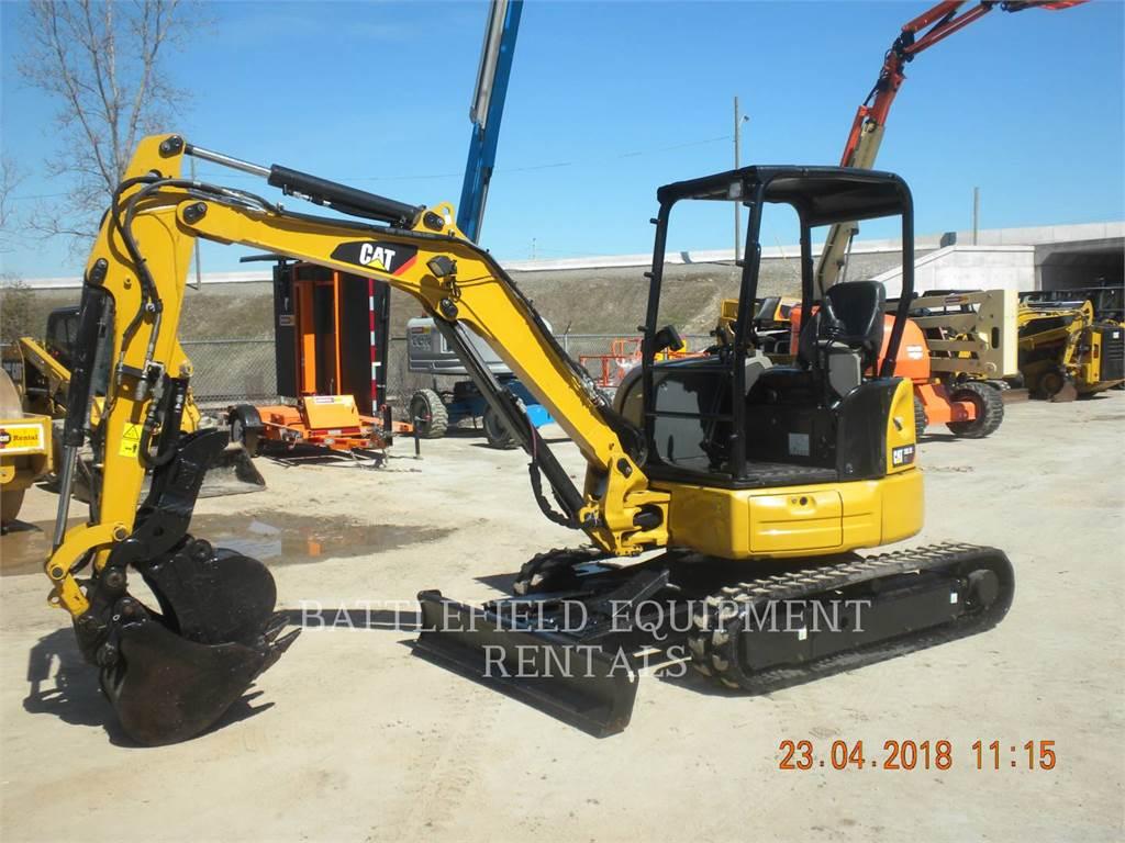 Caterpillar 303.5E2 CR, Escavadoras de rastos, Equipamentos Construção
