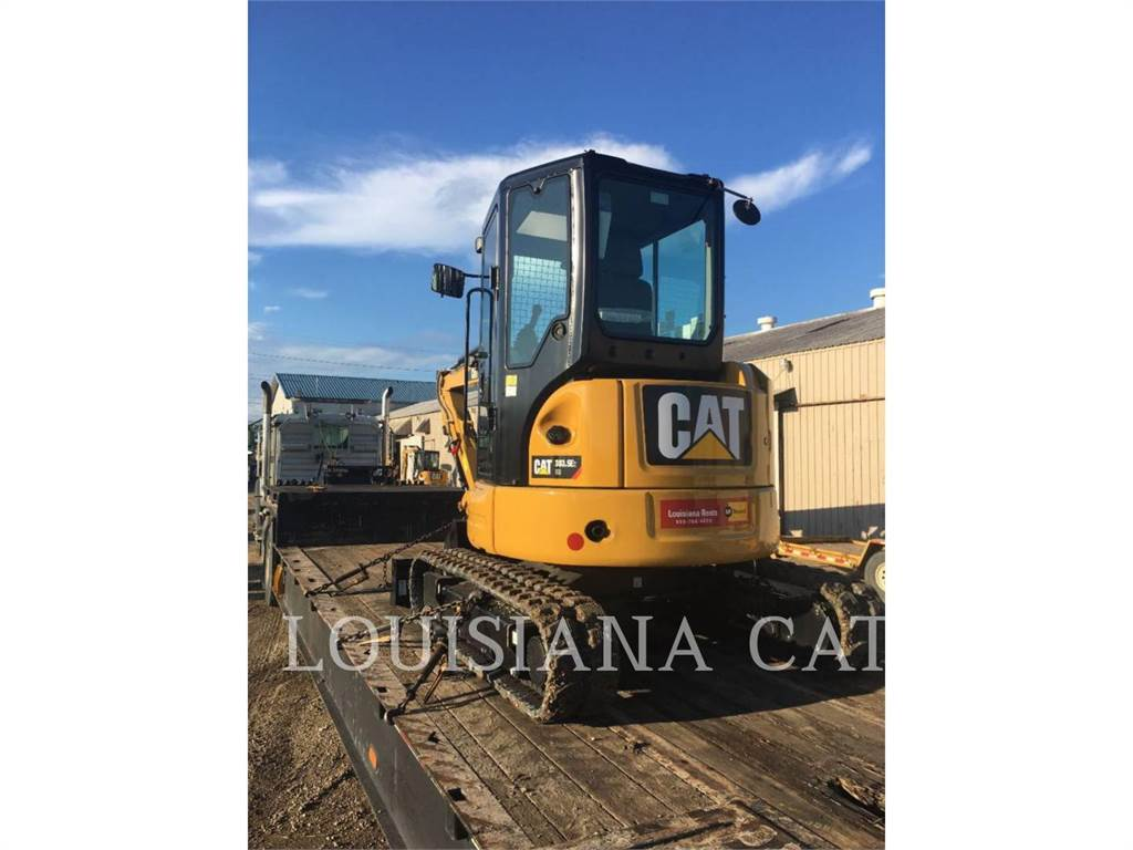 Caterpillar 303.5E2 CR, Crawler Excavators, Construction