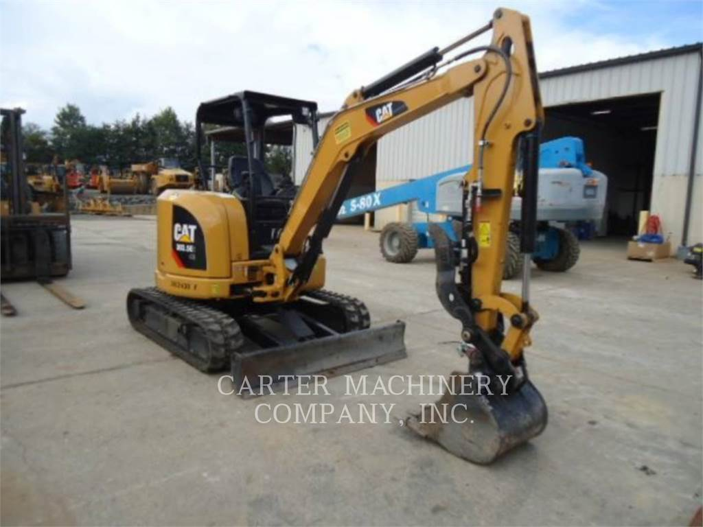 Caterpillar 303.5E2 CY, Crawler Excavators, Construction