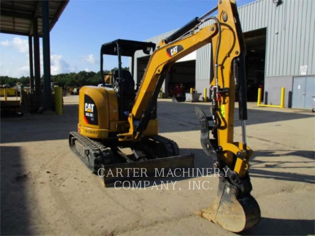 Caterpillar 303.5E2 CY, Pelle sur chenilles, Équipement De Construction