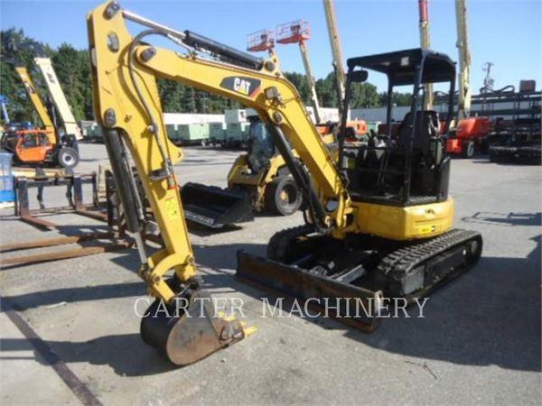 Caterpillar 303.5E2 CY, Raupenbagger, Bau-Und Bergbauausrüstung