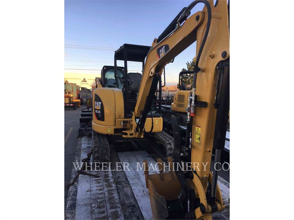 Caterpillar 303.5E2C1T, Crawler Excavators, Construction