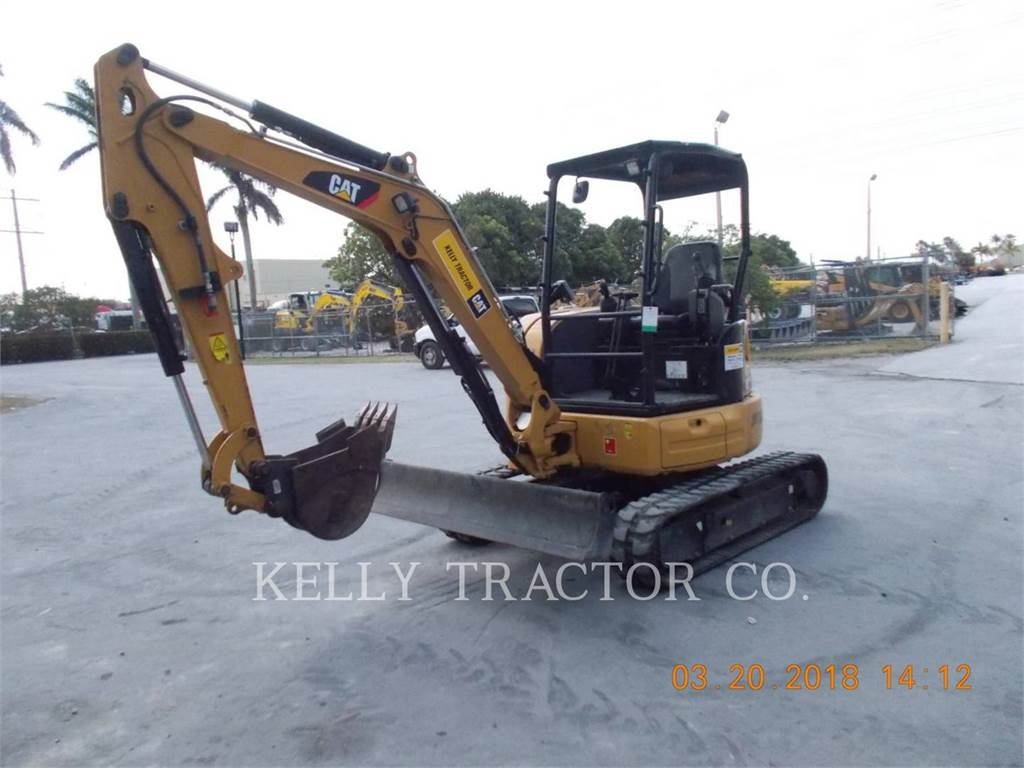 Caterpillar 303.5E2CR, Raupenbagger, Bau-Und Bergbauausrüstung