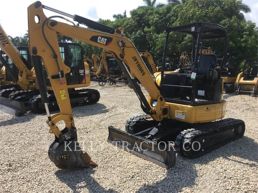 Caterpillar 303.5E2CR, Pelle sur chenilles, Équipement De Construction