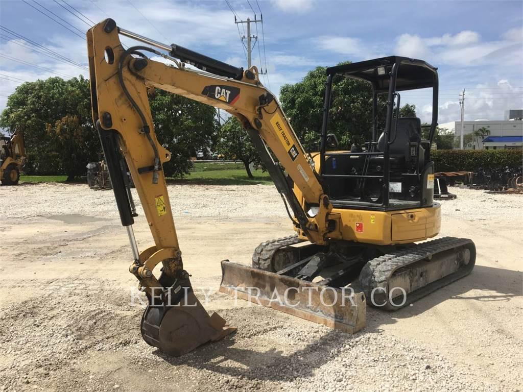 Caterpillar 303.5E2CR, Excavadoras de cadenas, Construcción