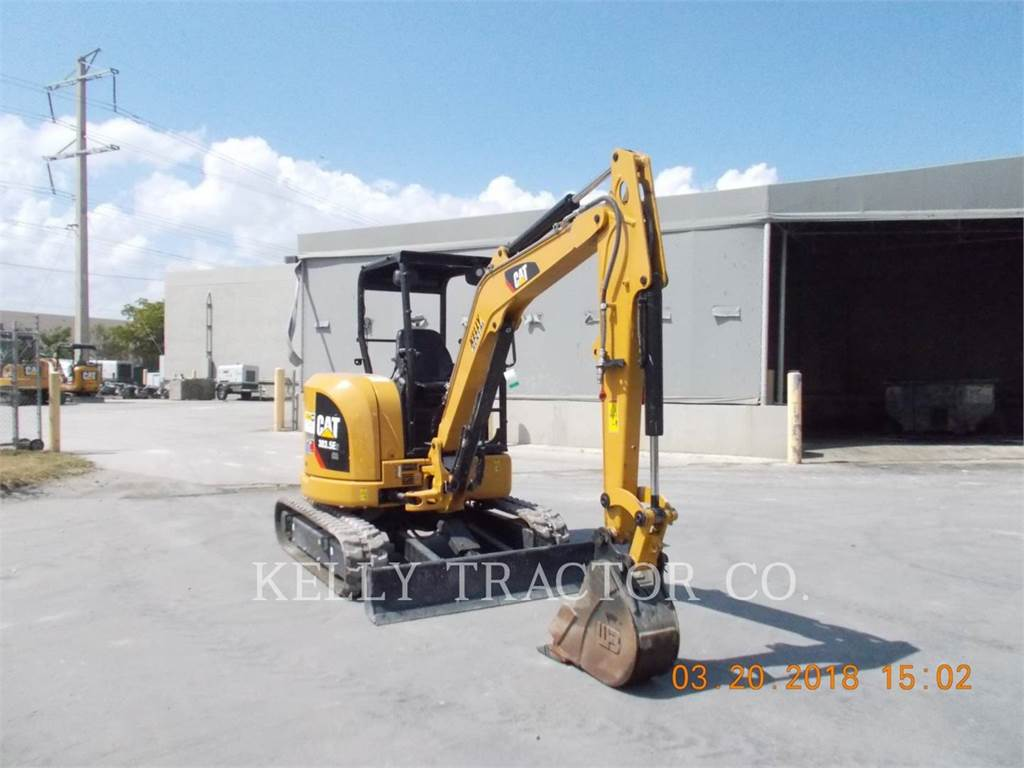 Caterpillar 303.5E2CR, Crawler Excavators, Construction