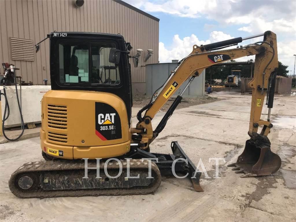 Caterpillar 303.5E2CR, Escavadoras de rastos, Equipamentos Construção