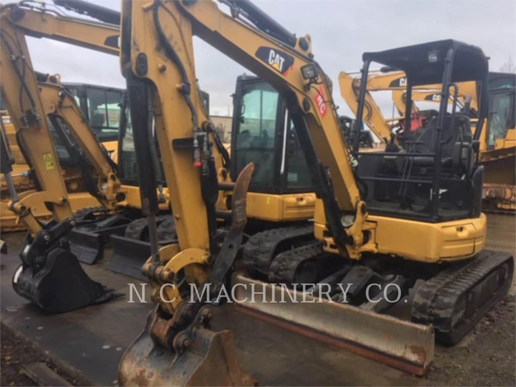 Caterpillar 303.5E2CR, Excavatoare pe senile, Constructii