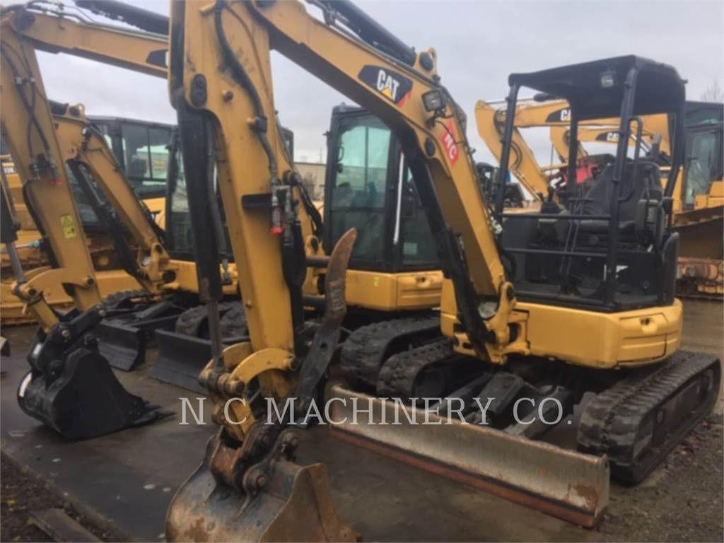 Caterpillar 303.5E2CRN, Crawler Excavators, Construction
