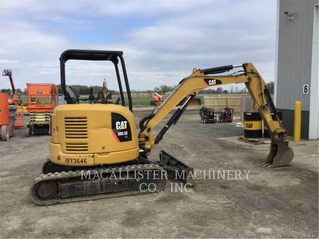 Caterpillar 303.5ECR, Pelle sur chenilles, Équipement De Construction