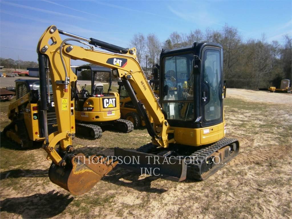 Caterpillar 303 E CR, Excavatoare pe senile, Constructii