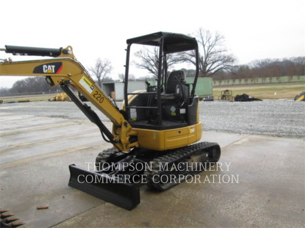 Caterpillar 303E CR, Escavadoras de rastos, Equipamentos Construção