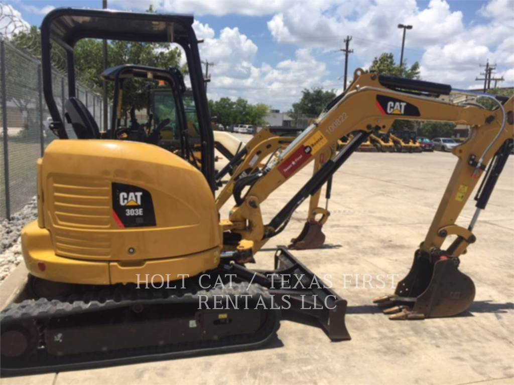 Caterpillar 303E CR, Crawler Excavators, Construction