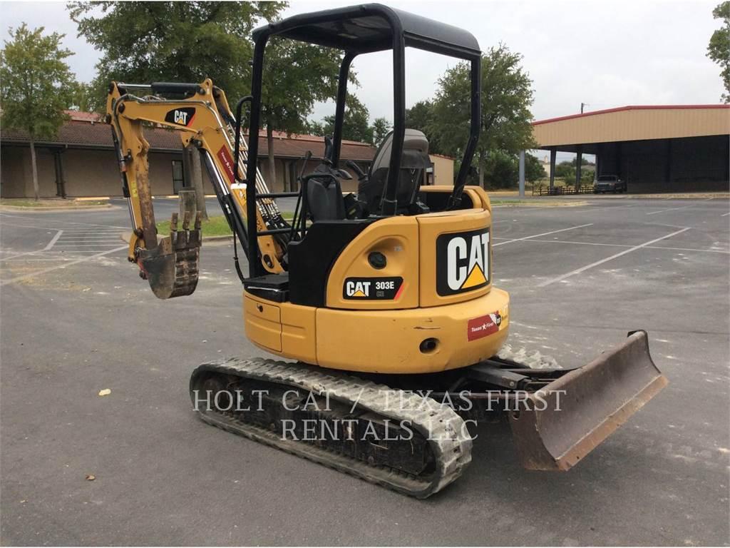Caterpillar 303E CR, Pelle sur chenilles, Équipement De Construction