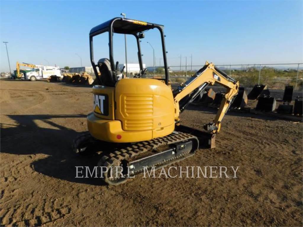 Caterpillar 303E CR, Excavadoras de cadenas, Construcción