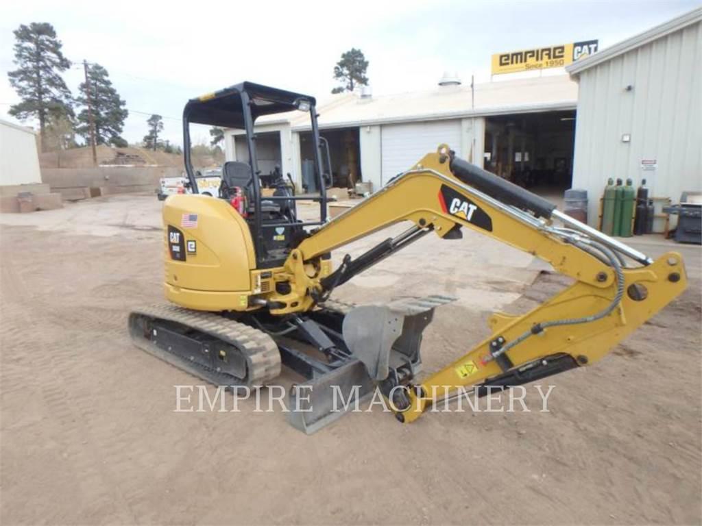 Caterpillar 303E OR、クローラー式油圧ショベル(パワーショベル・ユンボ)、建設