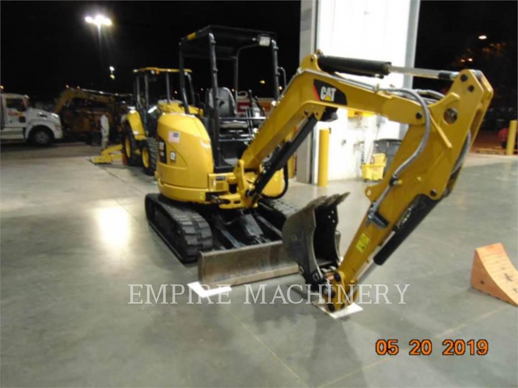 Caterpillar 303E OR, Excavadoras de cadenas, Construcción