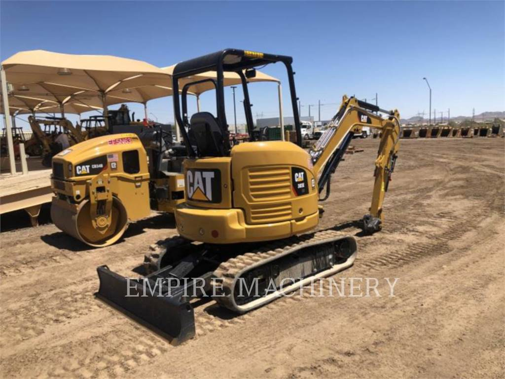 Caterpillar 303E OR, Rupsgraafmachines, Bouw