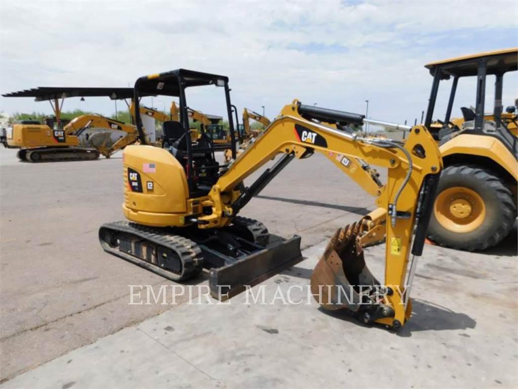 Caterpillar 303E OR, Excavatoare pe senile, Constructii