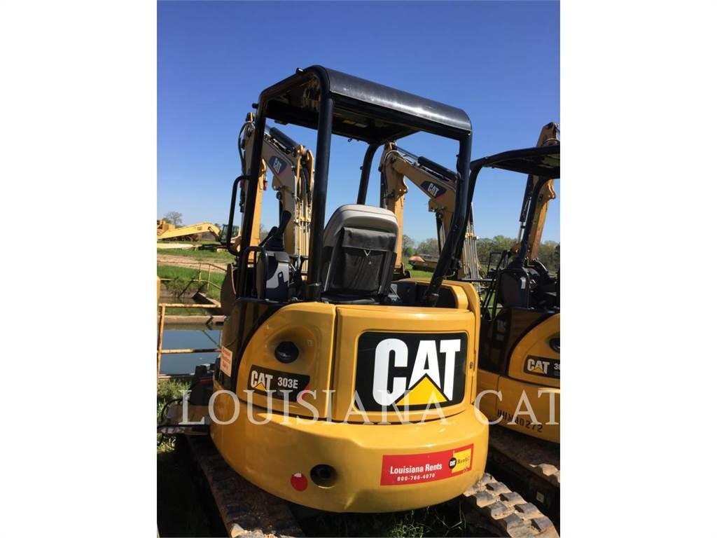 Caterpillar 303ECR, Crawler Excavators, Construction