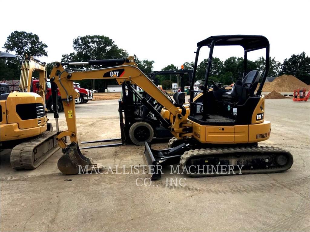 Caterpillar 303ECR, Koparki gąsienicowe, Sprzęt budowlany