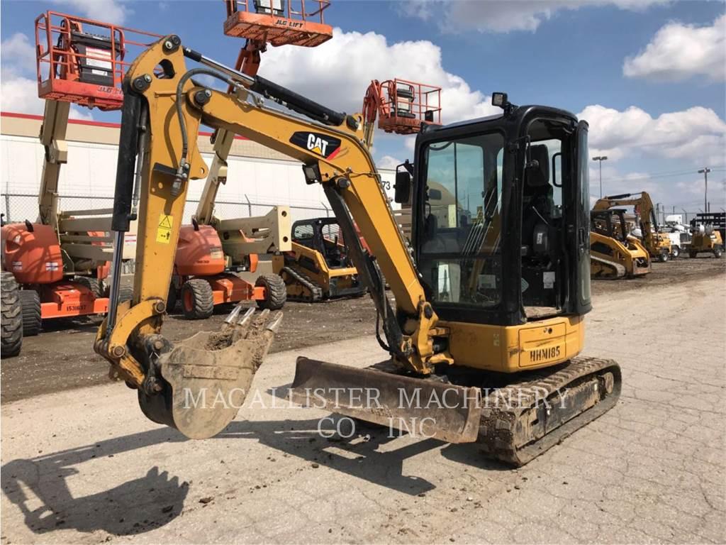Caterpillar 303ECR, Excavadoras de cadenas, Construcción