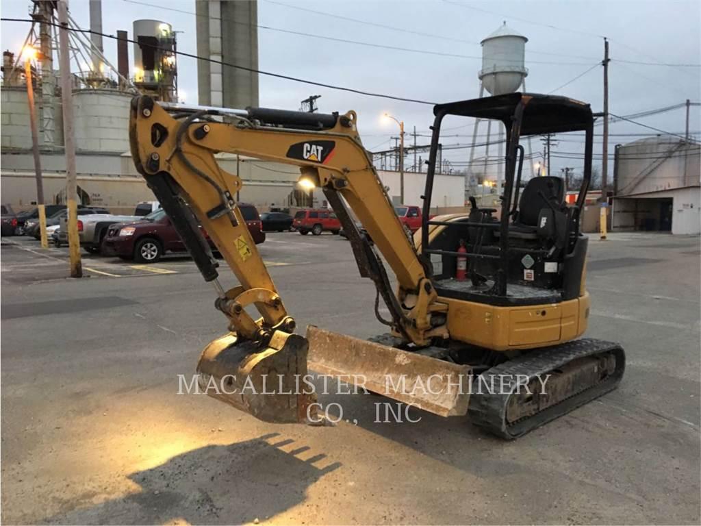 Caterpillar 303ECR、クローラー式油圧ショベル(パワーショベル・ユンボ)、建設