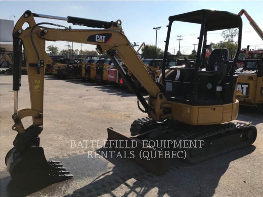 Caterpillar 303ECR, Pelle sur chenilles, Équipement De Construction