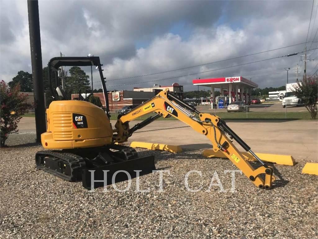 Caterpillar 303ECR, Excavatoare pe senile, Constructii