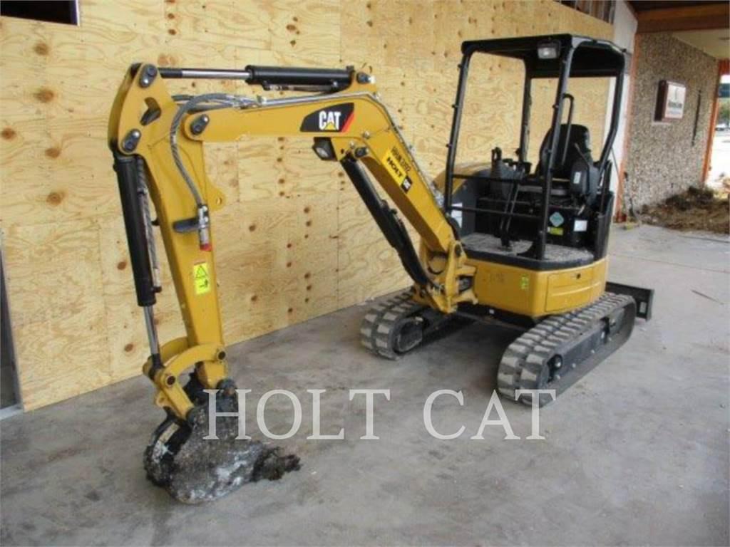 Caterpillar 303ECR, Rupsgraafmachines, Bouw