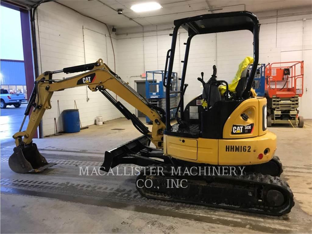 Caterpillar 303ECR, Escavadoras de rastos, Equipamentos Construção