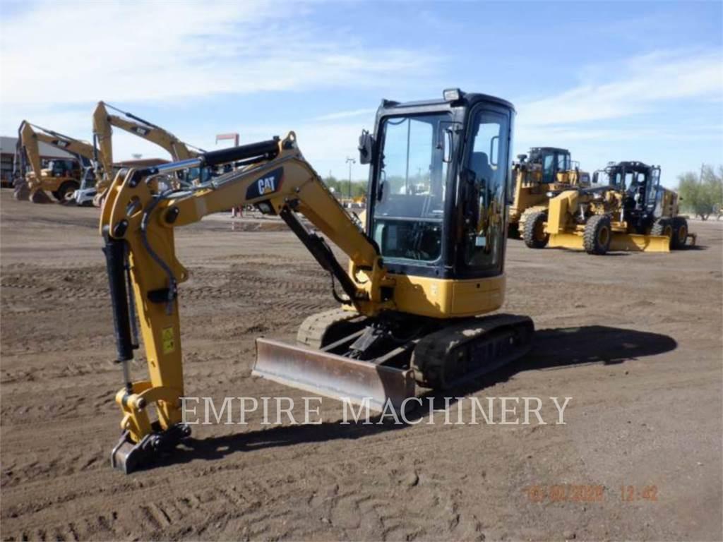 Caterpillar 303ECR CA, Crawler Excavators, Construction
