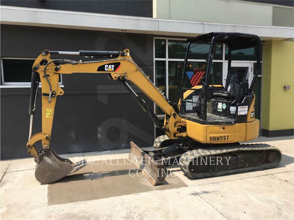 Caterpillar 303ECR, Crawler Excavators, Construction